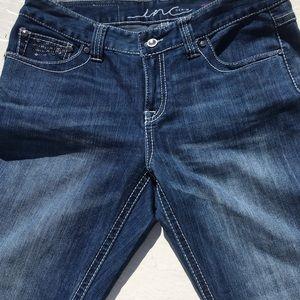 6233250f0ecf0 INC International Concepts Jeans - INC Denim Women s Regular Fit Bootleg  Jeans - 10